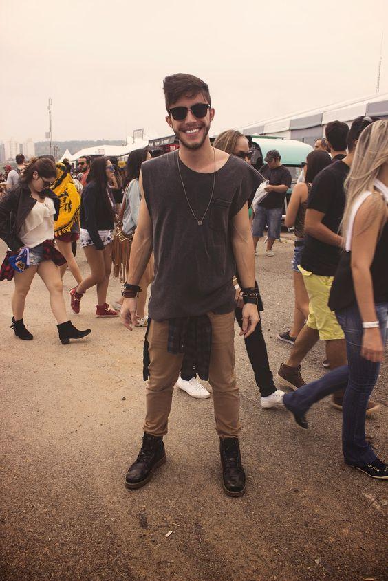 look masculino festival