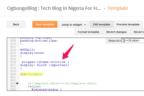 blogger_comment_form_html_code