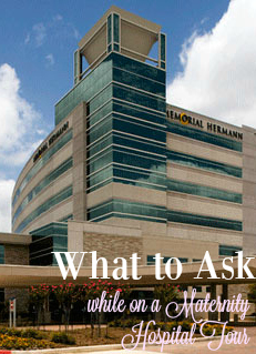 What to Ask While on a Maternity Hospital Tour