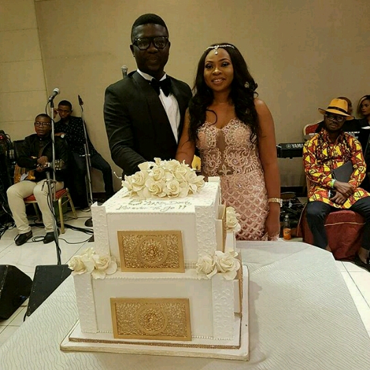 Celebrity Wedding Vows Examples: Comedian Seyi Law And Wife Renew Their Wedding Vows