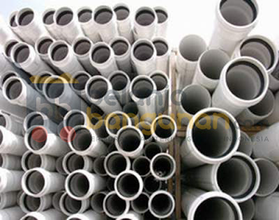 Belanja Bangunan Supply Pipa PVC Untuk Proyek Pamsimas