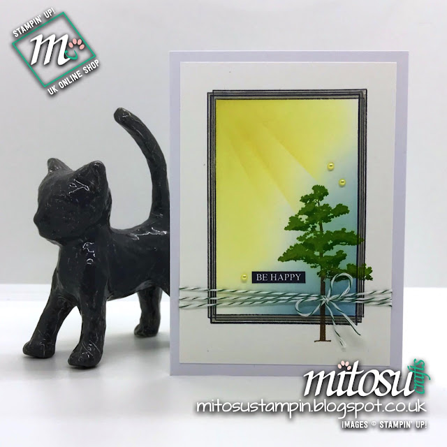 Stampin' Up! Swirly Frames & Rooted In Nature order from Mitosu Crafts UK Online Shop