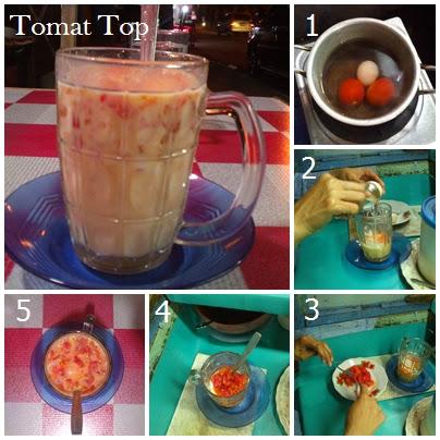 Tomat Top ,Minuman Unik dari Tomat