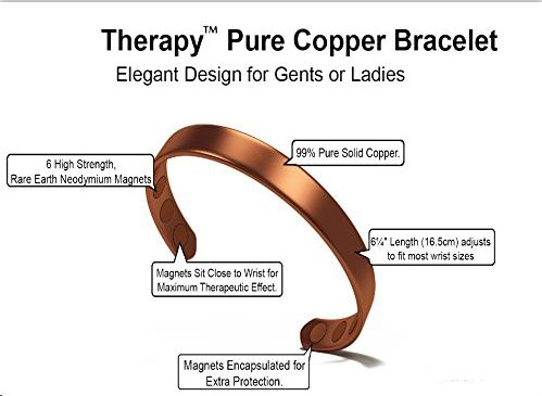 Magnetic Copper Bracelets For Rheumatoid Arthritis Pain Relief And Anti Inflammatory