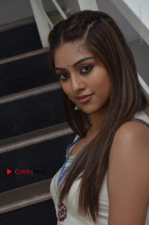 Telugu Actress Anu Emmanuel New Stills in Beautiful White Long Dress  0055.JPG