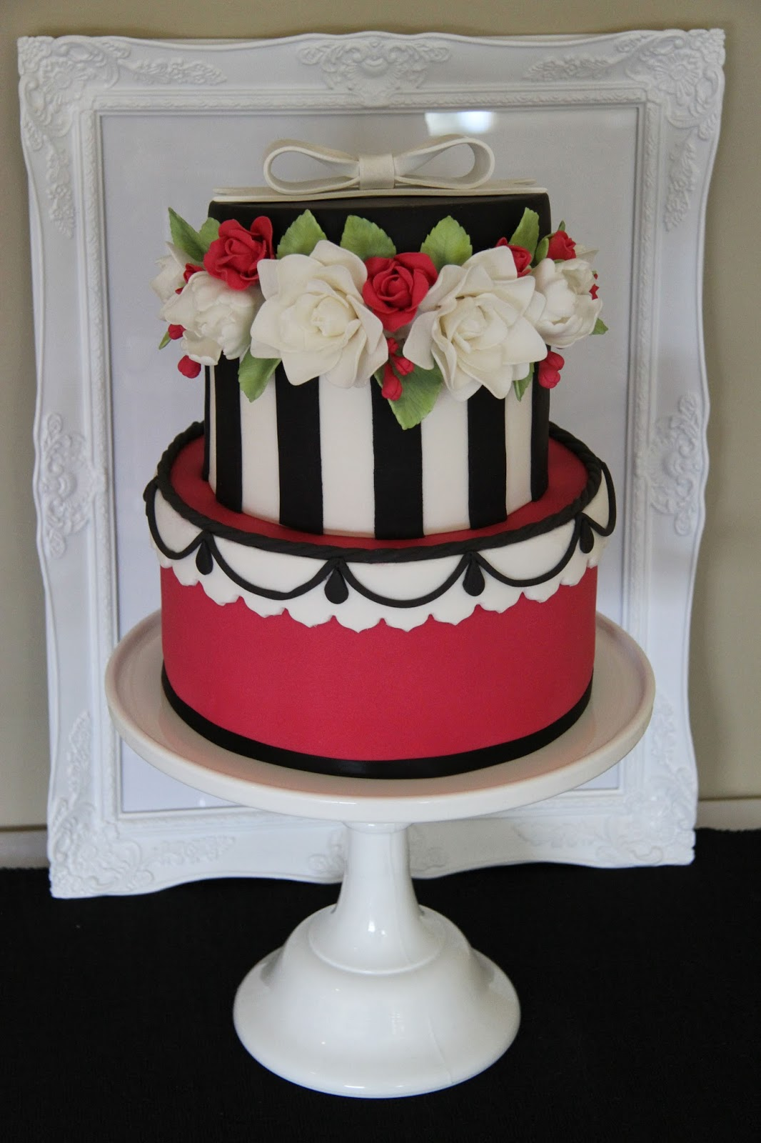 Leonie S Cakes And Parties Hat Box Cake