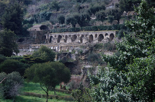 The ruins of the imperial complex at Baia, where Hadrian was probably living at the time of his death