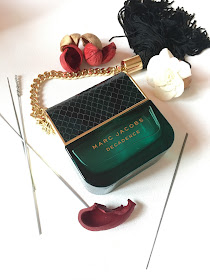 perfume, handbag, green, pretty