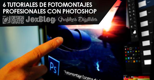 6 Tutoriales de Fotomontajes profesionales con Photoshop de JC