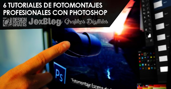 6 Tutoriales de Fotomontajes profesionales con Photoshop de JC