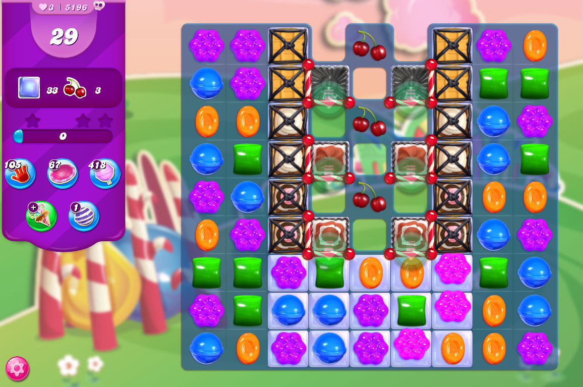 Candy Crush Saga level 5196