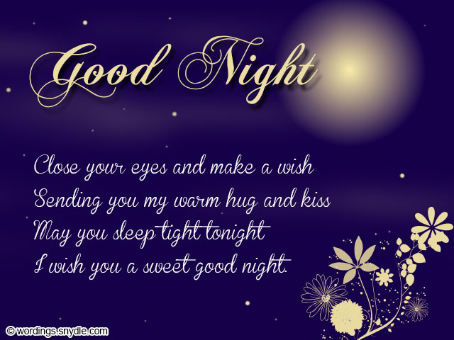 Sweet Goodnight Love Messages For Her To Make Her Smile Love You