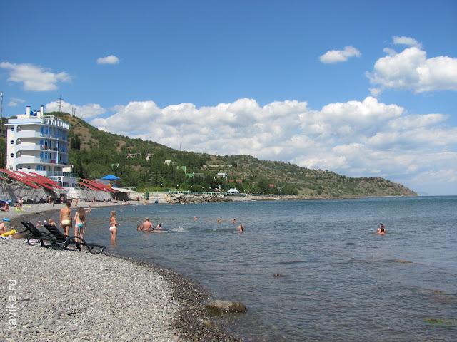 Пляж Сатеры