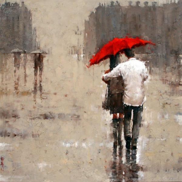 Cultural Corner: ANDRE KOHN...into The Rain
