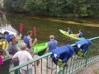 pour la ferte alais canoe sur la riviere essonne