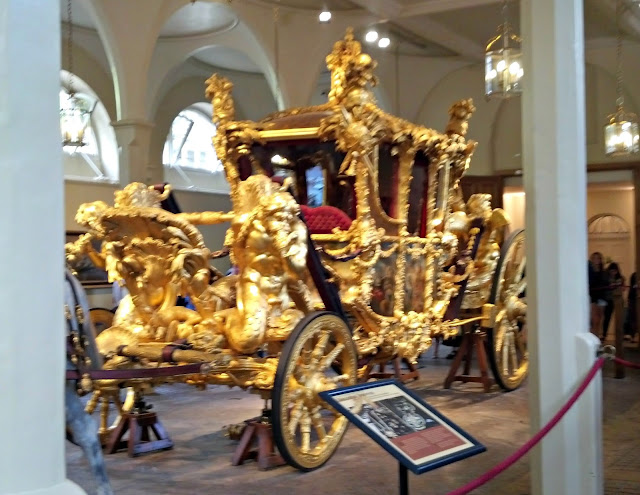 Royal Mews at the Buckingham Palace