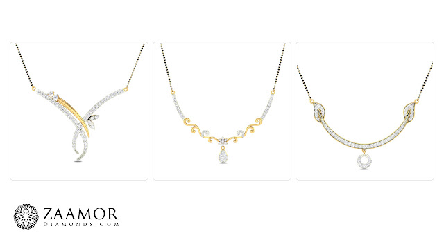 Daily Wear Mangalsutra - Zaamor Diamonds