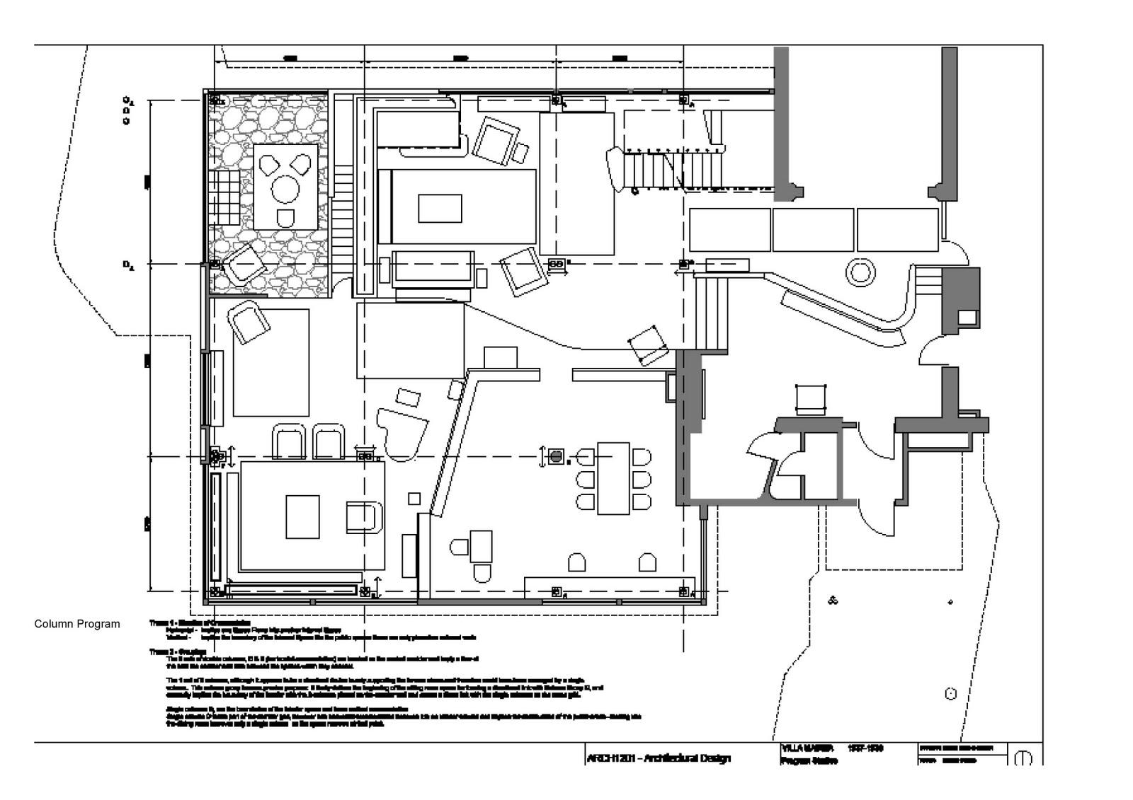 Villa Mairea Diagram Structure