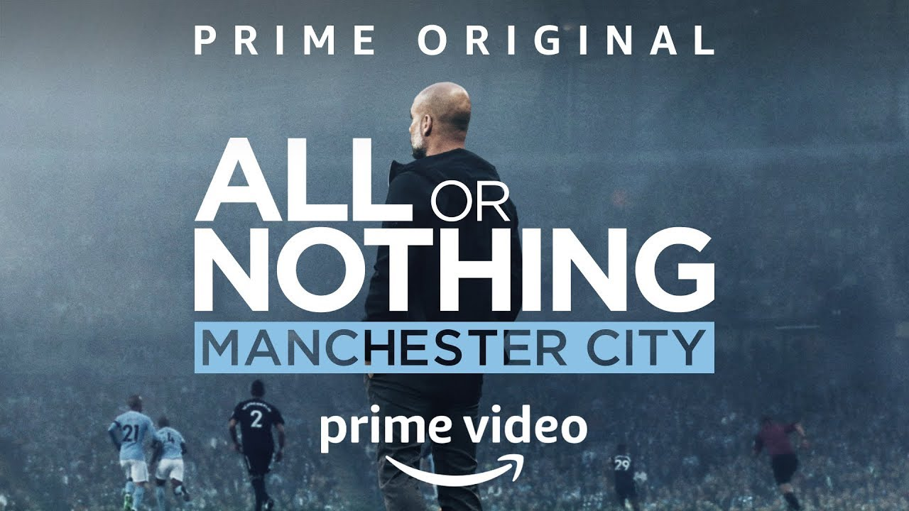 Próximamente Amazon Prime estrenará la última entrega de All or Nothing, dedicada al Manchester City