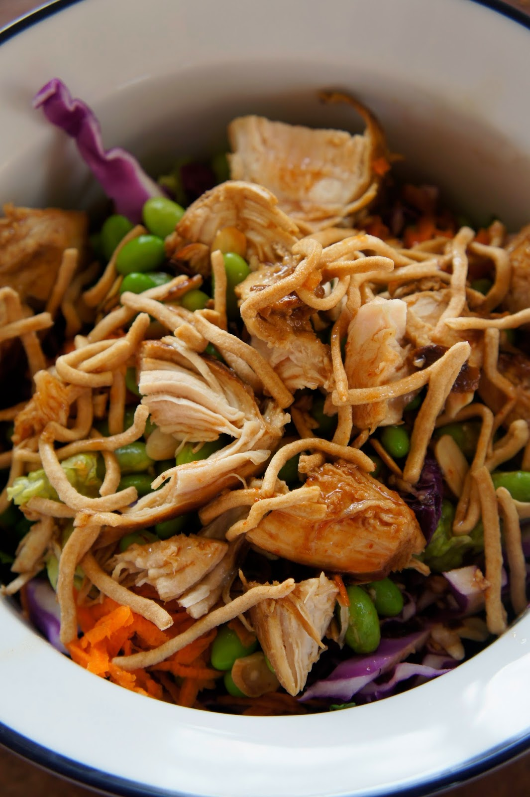 Chinese Chicken Salad: Savory Sweet and Satisfying