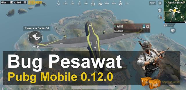 Mengatasi Bug Pesawat Pubg Mobile 0.12.0