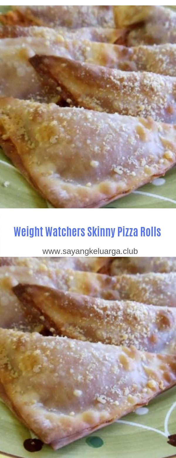 Weight Watchers Skinny Pizza Rolls