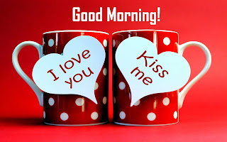 Coffee Mug Romantic I Love You Good Morning Kiss Images for Lovers