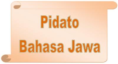 Pidato Bahasa Jawa