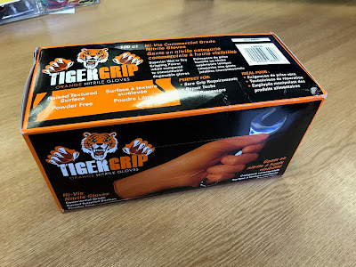 A new box of Tiger Grip Nitrile Gloves have arrived - let the building and mods commence!