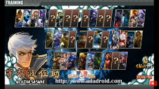 Download Select Naruto Senki Versi Mobile Legend v1.15