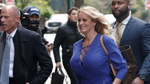La actriz porno Stormy Daniels demanda a Trump por difamación