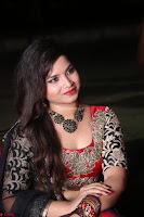 Sirisha Dasari in Red Ghagra Backless Choli ~  041.JPG