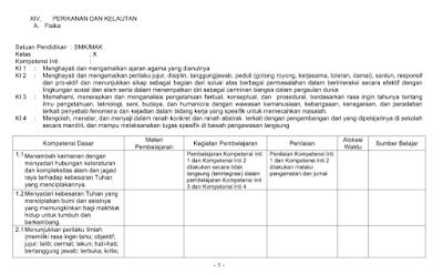 Download Silabus Perikanan dan Kelautan SMK Kurikulum 2013 Tahun 2018