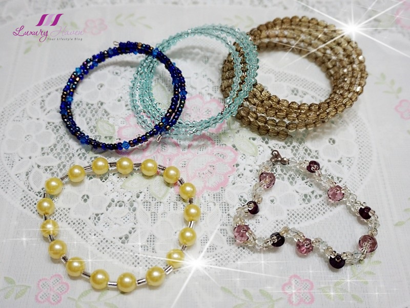 worldwide giveaway win handmade jewelleries beaded bangles