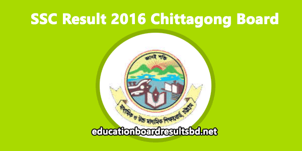 Get SSC Result 2016 for Chittagong Board Online