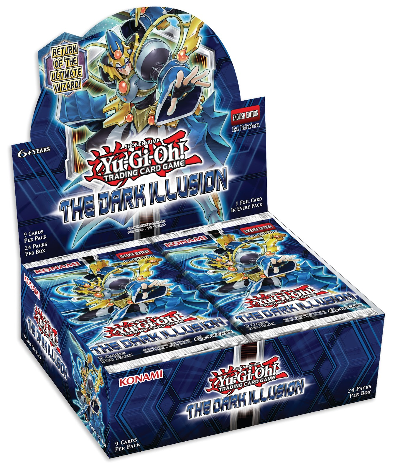 new from konami yu gi oh the dark illusion and dragons of