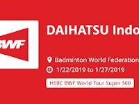 Jadwal Semi Final Badminton DAIHATSU Indonesia Masters 2019