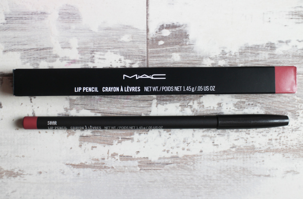 Mac Soar Lipliner and Mac Mehr Lipstick