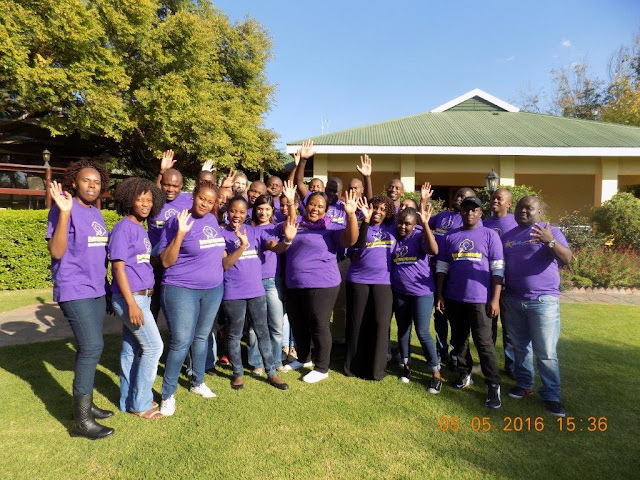 The 18 entrepreneurs who attended the Limpopo Entrepreneurial Development Programme hosted by Business Fit and Hollywoodbets