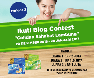 COLIDAN BLOG COMPETITION