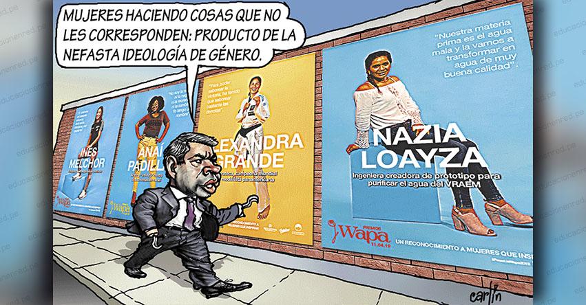 Carlincaturas Miércoles 17 Abril 2019 - La República