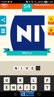 Iconica Italia Pop Logo Quiz soluzione pacchetto 5 livelli 54-75