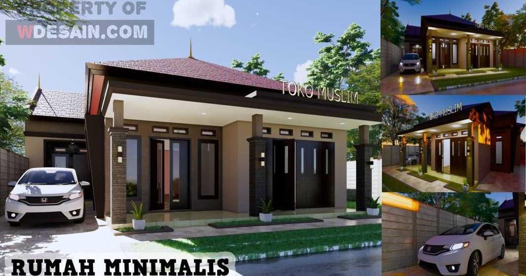Desain Rumah Dan Toko Kelontong Desain Rumah Minimalis