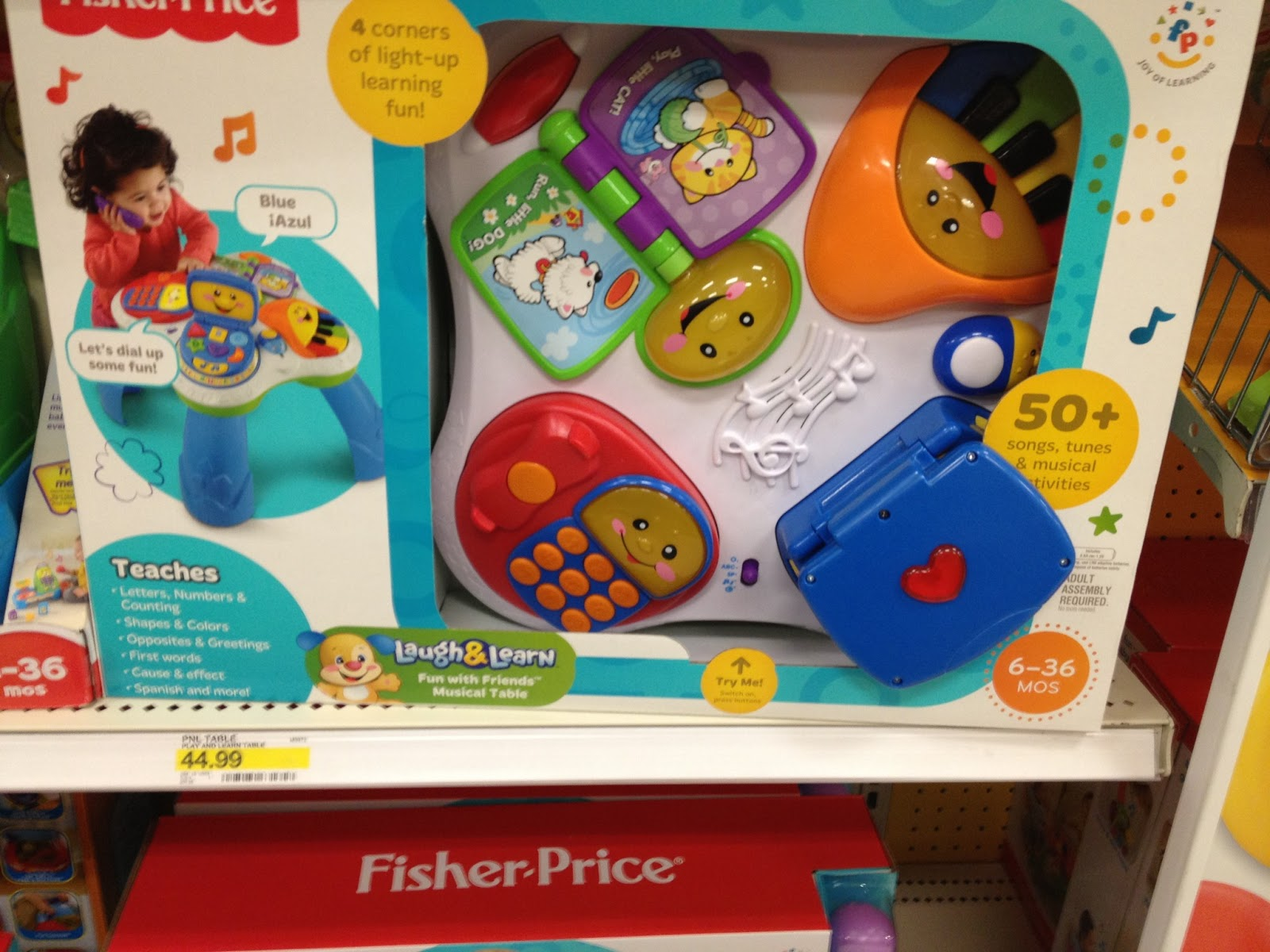 Mesa Musical Fisher Price Fisher Price Laugh And Learn Musical Table Modern Coffee