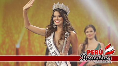 Miss Perú Universo 2016 es Valeria Piazza