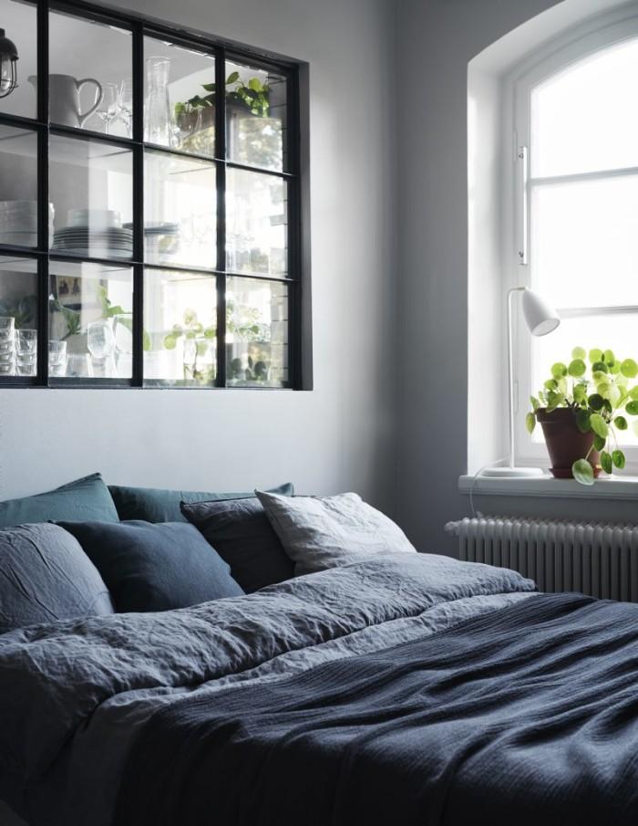 ATELIER RUE VERTE , le blog: Stockholm / Chambre avec verrière chez ...
