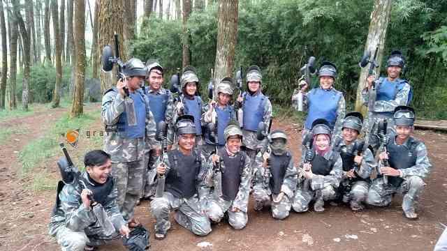 Keseruan Paintball Bandung Lembang