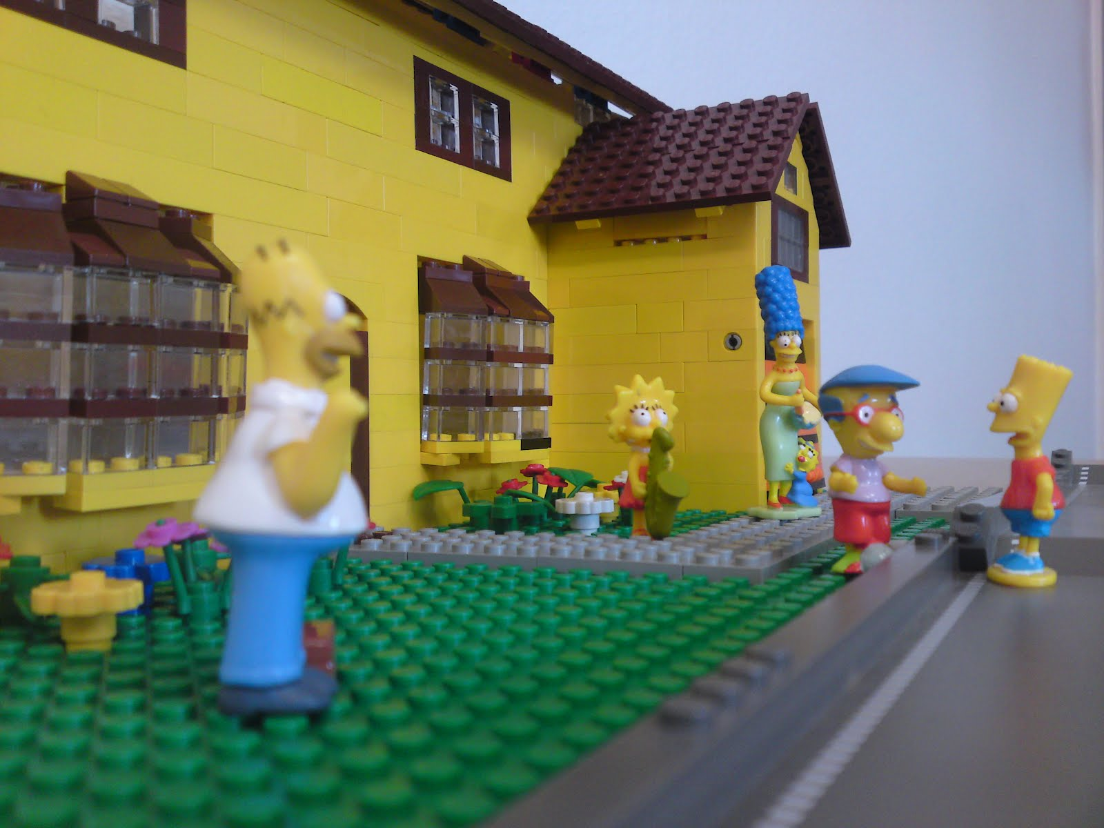 Lego Nerds: Evergreen Terrace - das Haus der Simpsons aus Lego