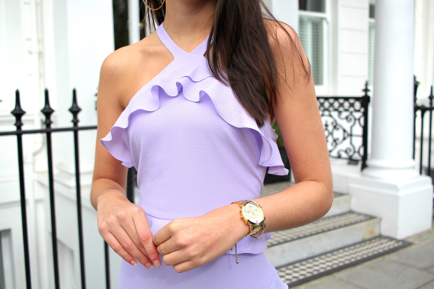 peexo personal style blogger lilac dress