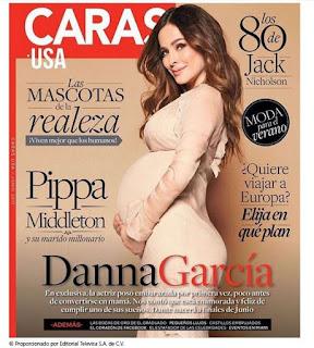 Danna Garcia en Caras USA